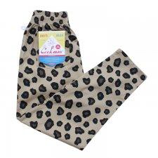 CookMan (クックマン) Chef Pants Big Leopard (シェフパンツ ビックレオパード) BEIGE