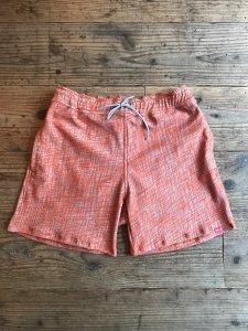 THE HARD MAN (ザハードマン) Stretch pattern shorts (ストレッチパターンボードショーツ) ORANGE