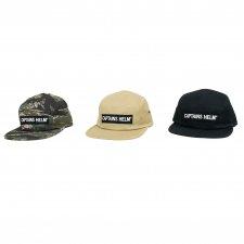 CAPTAINS HELM (キャプテンズヘルム) #TRADEMARK CAMP CAP(ジェットキャップ) BLACK
