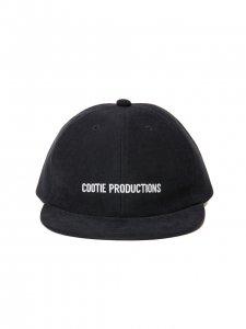 COOTIE (クーティー) Cotton Suede 6 Panel Cap (コットンスエードパネルキャップ) Black