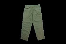 WAX (ワックス) Back satin easy pants (バックサテンイージーパンツ) KHAKI