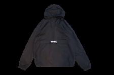 WAX (ワックス) WAX anorak parka (アノラックパーカー) BLACK