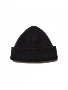 COOTIE (クーティー) Cuffed Beanie (ニットキャップ) Black