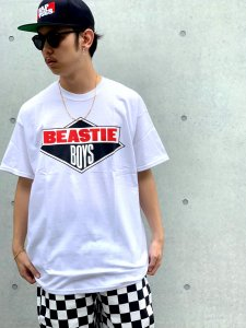 <img class='new_mark_img1' src='//img.shop-pro.jp/img/new/icons24.gif' style='border:none;display:inline;margin:0px;padding:0px;width:auto;' />【40%OFF】RAPTEES(ラップティーズ) BEASTIE BOYS S/S TEE (ビースティーボーイズ 半袖Tシャツ) WHITE