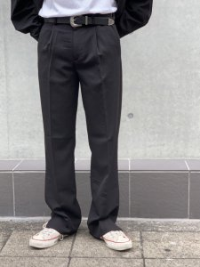 ARTIFICIAL SWEETENER (アーティフィシャルスウィートナー) フレアスラックス BLACK