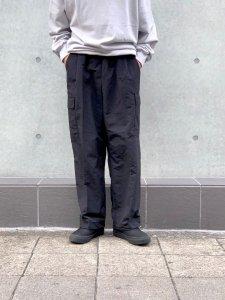 ARTIFICIAL SWEETENER (アーティフィシャルスウィートナー) ナイロンカーゴパンツ BLACK