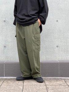 ARTIFICIAL SWEETENER (アーティフィシャルスウィートナー) ナイロンカーゴパンツ KHAKI