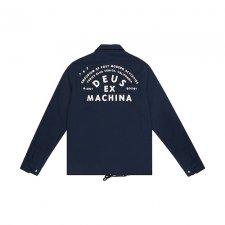 Deus ex Machina (デウスエクスマキナ) BOWMAN TOKYO COACH(コーチジャケット) MIDNIGHT BLUE