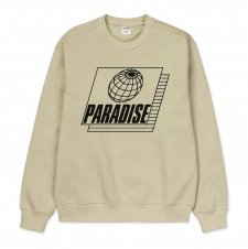 <img class='new_mark_img1' src='https://img.shop-pro.jp/img/new/icons24.gif' style='border:none;display:inline;margin:0px;padding:0px;width:auto;' />【50%OFF】Paradise Youth Club(パラダイス ユース クラブ)STRETCH SWEATER (プリントスェット) SAND