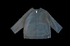 <img class='new_mark_img1' src='https://img.shop-pro.jp/img/new/icons24.gif' style='border:none;display:inline;margin:0px;padding:0px;width:auto;' />WAX (ワックス) Wool mix V neck shirts (ウールミックスブイネックシャツ) KHAKI