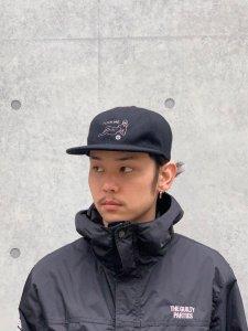 WACKO MARIA (ワコマリア) WOOL 6 PANEL CAP(TYPE-4) (ウール6パネルキャップ) BLACK