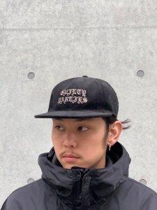 WACKO MARIA (ワコマリア) CORDUROY 6 PANEL CAP(TYPE-1) (コーデュロイ6パネルキャップ) BLACK