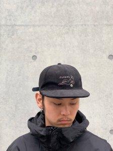 WACKO MARIA (ワコマリア) CORDUROY 6 PANEL CAP(TYPE-4) (コーデュロイ6パネルキャップ) BLACK