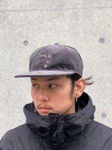 WACKO MARIA (ワコマリア) CORDUROY 6 PANEL CAP(TYPE-4) (コーデュロイ6パネルキャップ) GRAY