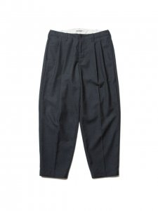 COOTIE (クーティー) Wool 2 Tuck Trousers (ウールツータックトラウザー) Gray