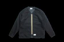 WAX (ワックス) Duck zip up jacket (ダックジップジャケット) BLACK