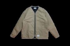 WAX (ワックス) Duck zip up jacket (ダックジップジャケットジャケット) KHAKI