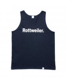 ROTTWEILER (ロットワイラー) R・W Tank (タンクトップ) BLACK