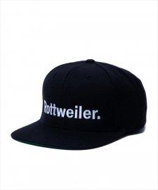 ROTTWEILER (ロットワイラー) R・W Snapback (スナップバックキャップ) BLACK