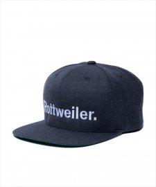 ROTTWEILER (ロットワイラー) R・W Snapback (スナップバックキャップ) GRAY