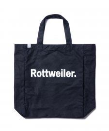 ROTTWEILER (ロットワイラー) R・W Bag (トートバッグ) BLACK
