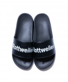 ROTTWEILER (ロットワイラー) R・・W Slippers (サンダル) BLACK