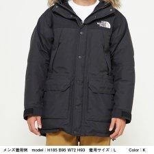THE NORTH FACE (ザノースフェイス) Mountain Down Coat(マウンテンダウンコート) K (ブラック)