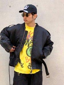 ARTIFICIAL SWEETENER (アーティフィシャルスウィートナー) ドッキングジャケット BLACK