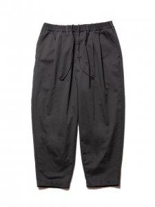 COOTIE (クーティー) T/C 2 Tuck Easy Pants(T/Cツータックイージーパンツ) C.Gray