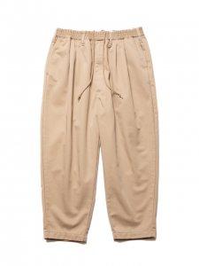 COOTIE (クーティー) T/C 2 Tuck Easy Pants(T/Cツータックイージーパンツ) Beige