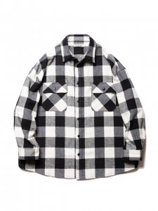 COOTIE (クーティー) Buffalo CPO Jacket (バッファローCPOジャケット) Off White