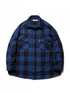 COOTIE (クーティー) Buffalo CPO Jacket (バッファローCPOジャケット) Blue
