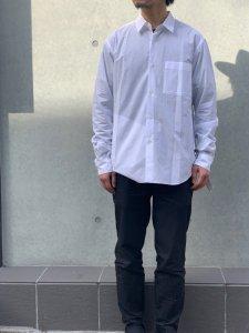 GOOD NEIGHBORS SHIRTS(グッドネイバーズシャツ) JOHN REGULAR COLLAR SHIRTS(レギュラーカラーシャツ) WHITE