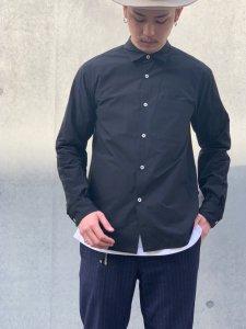 GOOD NEIGHBORS SHIRTS(グッドネイバーズシャツ) JOHN REGULAR COLLAR SHIRTS(レギュラーカラーシャツ) BLACK