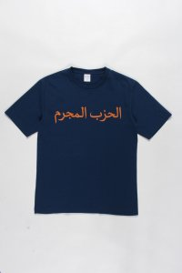 WACKO MARIA (ワコマリア) WASHED HEAVY WEIGHT CREW NECK COLOR T-SHIRT (TYPE-2) (ウォッシュドヘビーウェイトTEE) NAVY