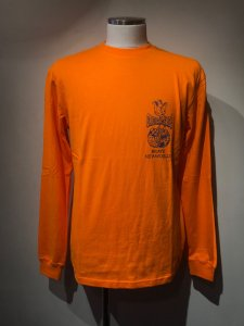 TCSS (ティーシーエスエス) BRAVE NEW WORLD L/S TEE(プリント長袖TEE) POPSICLE ORANGE