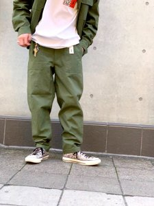 WAX (ワックス) Baker pants(ベイカーパンツ) KHAKI