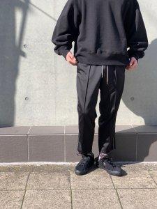 【40%OFF】ANASOLULE (アナソルール) Briac (ジャージパンツ) Black
