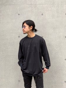 CAPTAINS HELM (キャプテンズヘルム) #GOLDEN STATE MESH L/S TEE (メッシュL/S TEE) BLACK