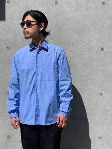 GOOD NEIGHBORS SHIRTS(グッドネイバーズシャツ) NOEL REGULAR COLLAR SHIRTS(レギュラーカラーワイドシャツ) SKY