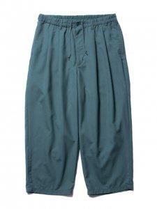 COOTIE (クーティー) T/W 2 Tuck Easy Pants(T/Wツータックイージーパンツ) Green