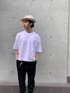 DELUXE (デラックス) WEEKEND (S/S TEE) WHITE