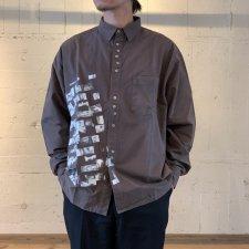 JIMMY'Z (ジミーズ) `ZEYE`S Shirts (プリント長袖シャツ) BLACK