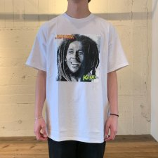 【30%OFF】RAPTEES(ラップティーズ) BOB MARLEY PHOTO SS TEE (プリント半袖TEE) WHITE