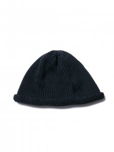 COOTIE (クーティー) Roll Up Beanie(ロールアップビーニーキャップ) Black