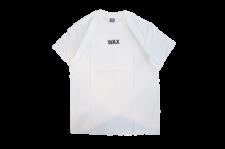 WAX (ワックス) WAX basic S/S tee (半袖プリントTEE) WHITE