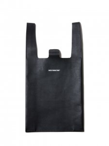 COOTIE (クーティー) Leather C-Store Bag (Large)(レザーC-Storeバッグ)Black