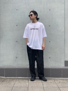 CAPTAINS HELM (キャプテンズヘルム) #TRADEMARK LOGO DRY TEE (S/S TEE) WHITE
