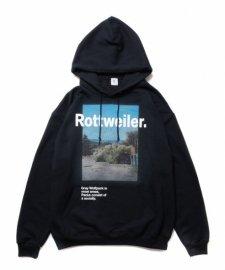 ROTTWEILER (ロットワイラー)Desert Photo Parka (プルオーバーパーカー) BLACK