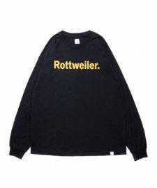 【30%OFF】ROTTWEILER (ロットワイラー) RW LS Tee (ロングスリーブTee) BLACK
